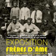L'EXPOSITION FRÈRES D'ÂME – Mairie 18e PARIS, 03 au 16 novembre 2017