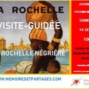 LA ROCHELLE – Une nouvelle visite-guidée sur les traces de l'esclavage en septembre…