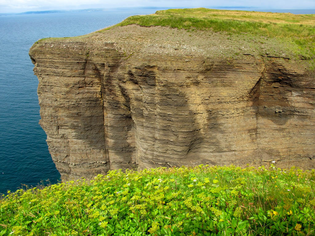 Bell Island cliff