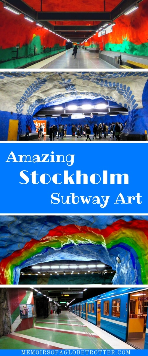 Known as the world's longest art gallery, the Stockholm metro features the work of more than 150 talented artists! You can easily spend hours exploring these stations and admiring the art!
