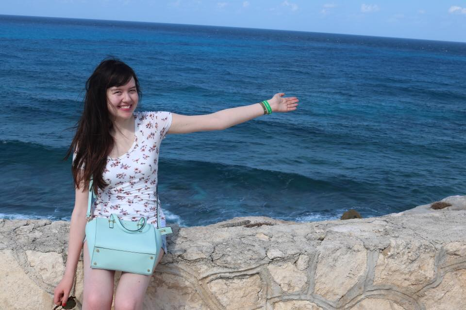Enjoying the sea breeze at Punta Sur, Isla Mujeres, Mexico