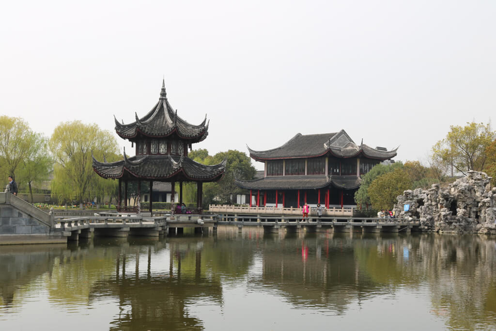 Chengxu temple in Zhouzhuang.