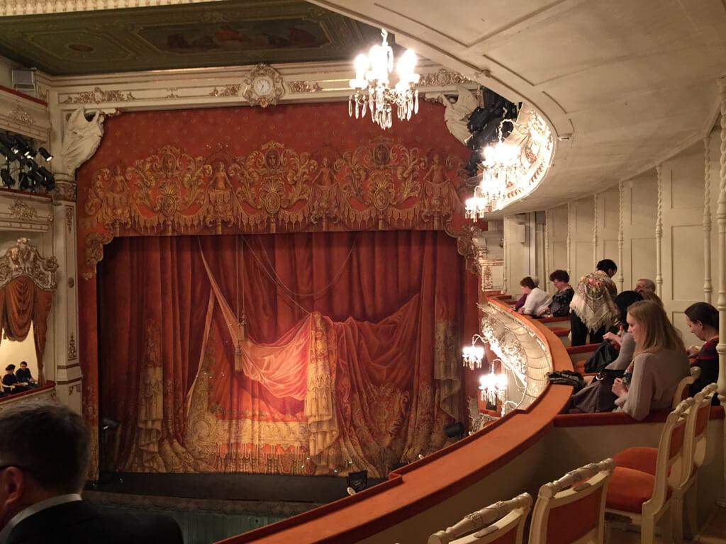 Mikhailovsky Theatre interior