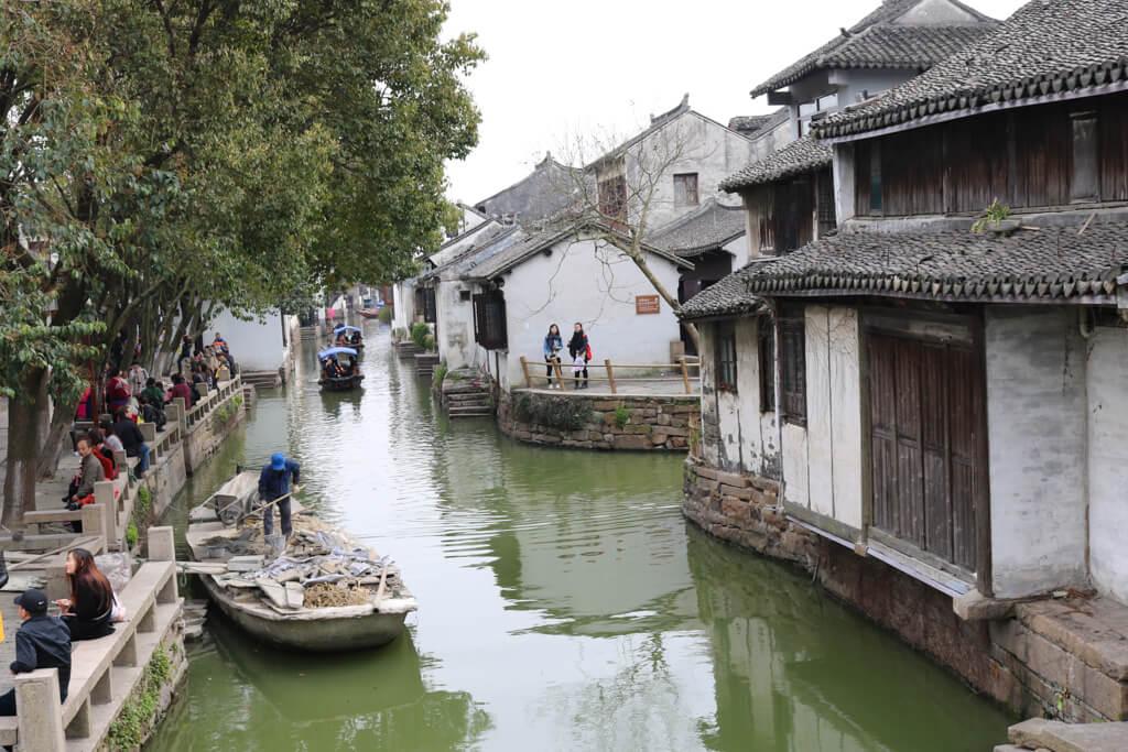 Zhouzhuang Water Town near Shanghai