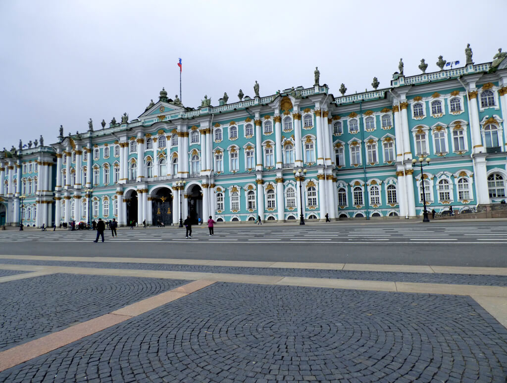 Winter Palace in St. Petersburg, Russia