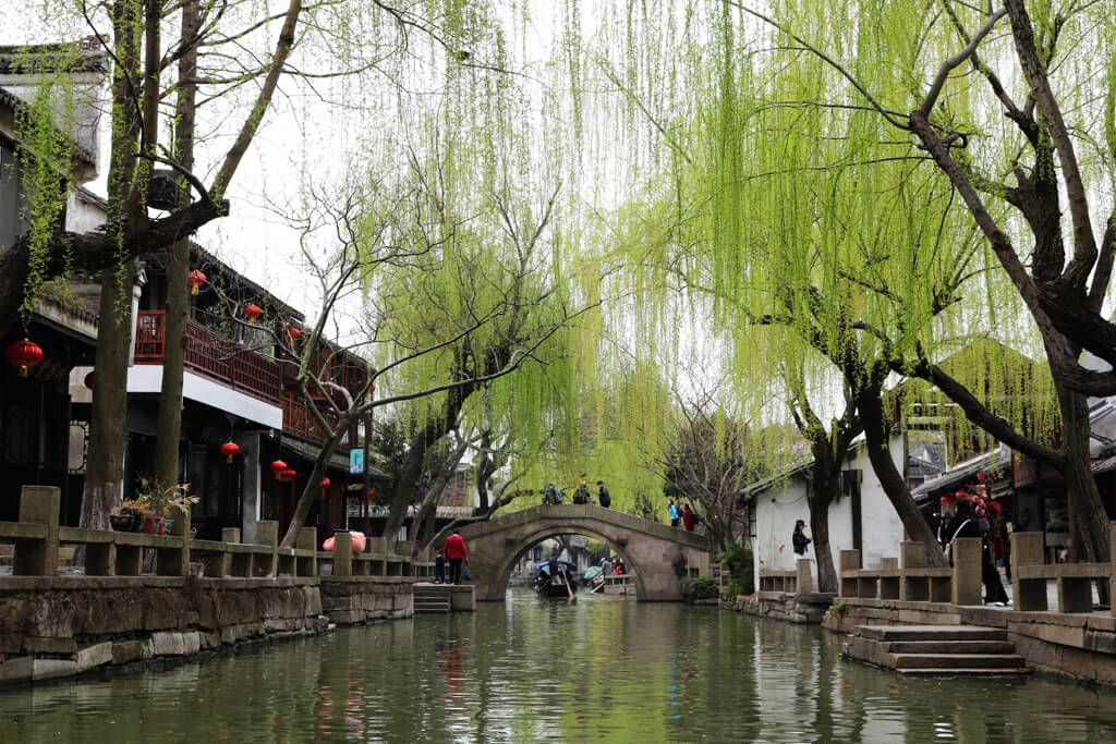 Zhouzhuang Water Town in China