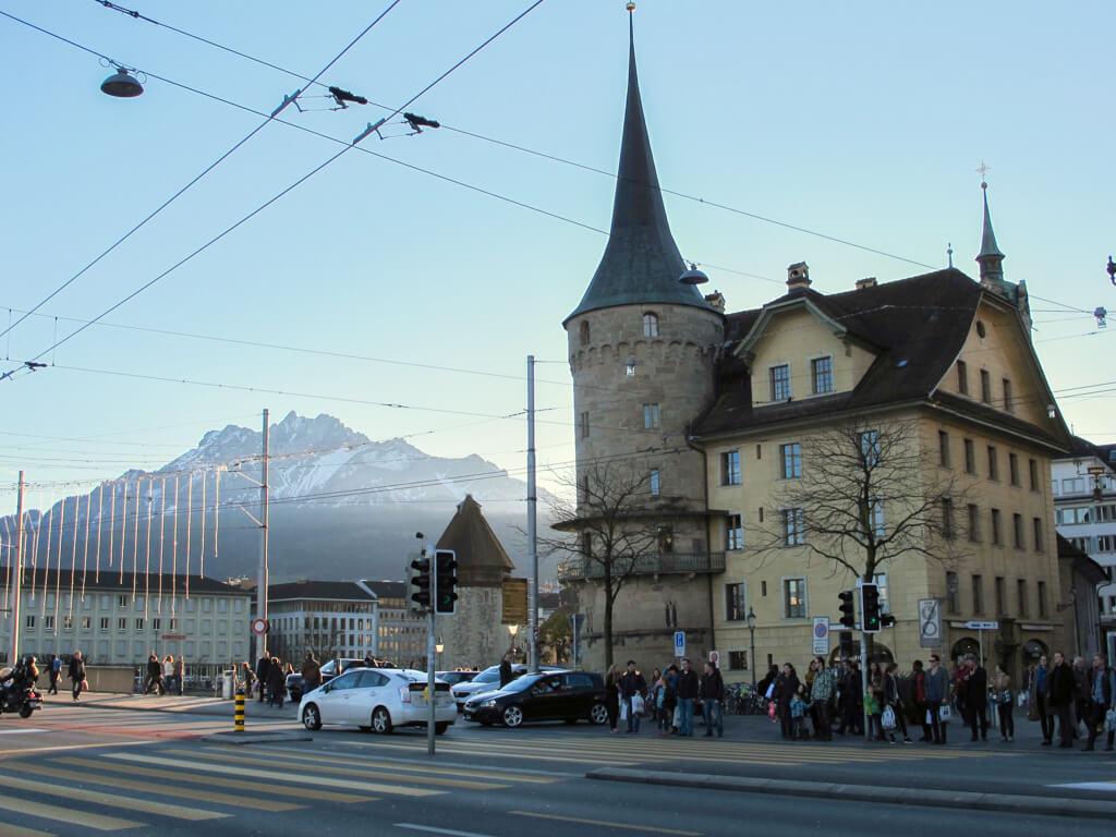 Schwanenplatz Tower, Lucerne