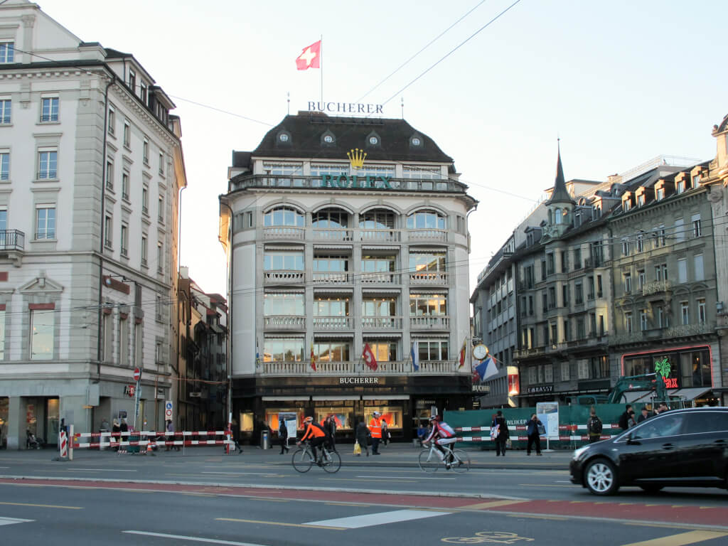 A building in Lucerne