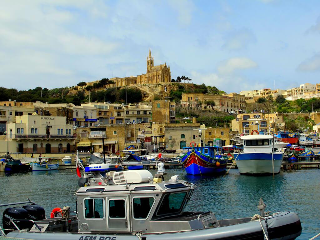 A town in Malta