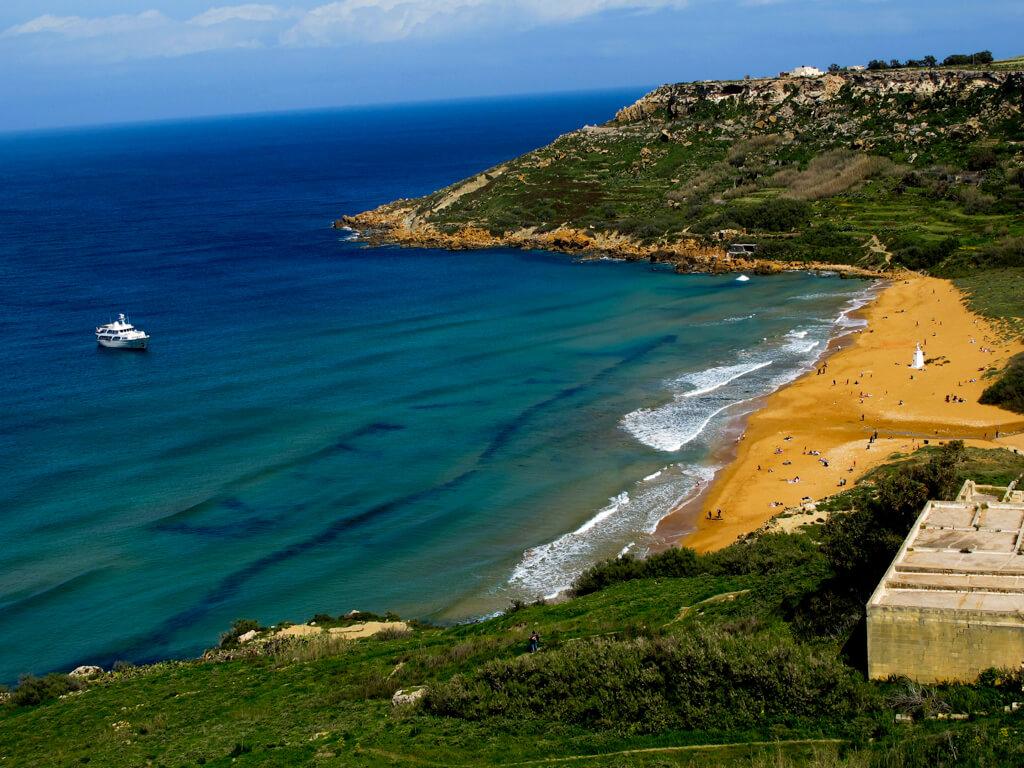 Ramla Bay, Gozo, Malta