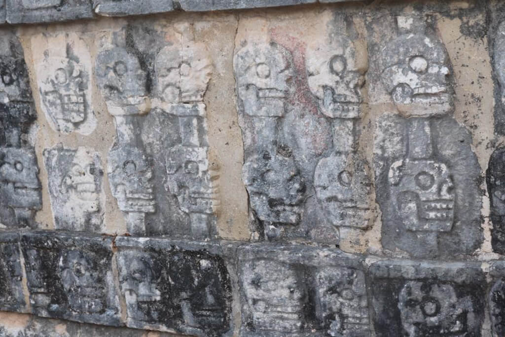 Wall of Skulls, Chichen Itza