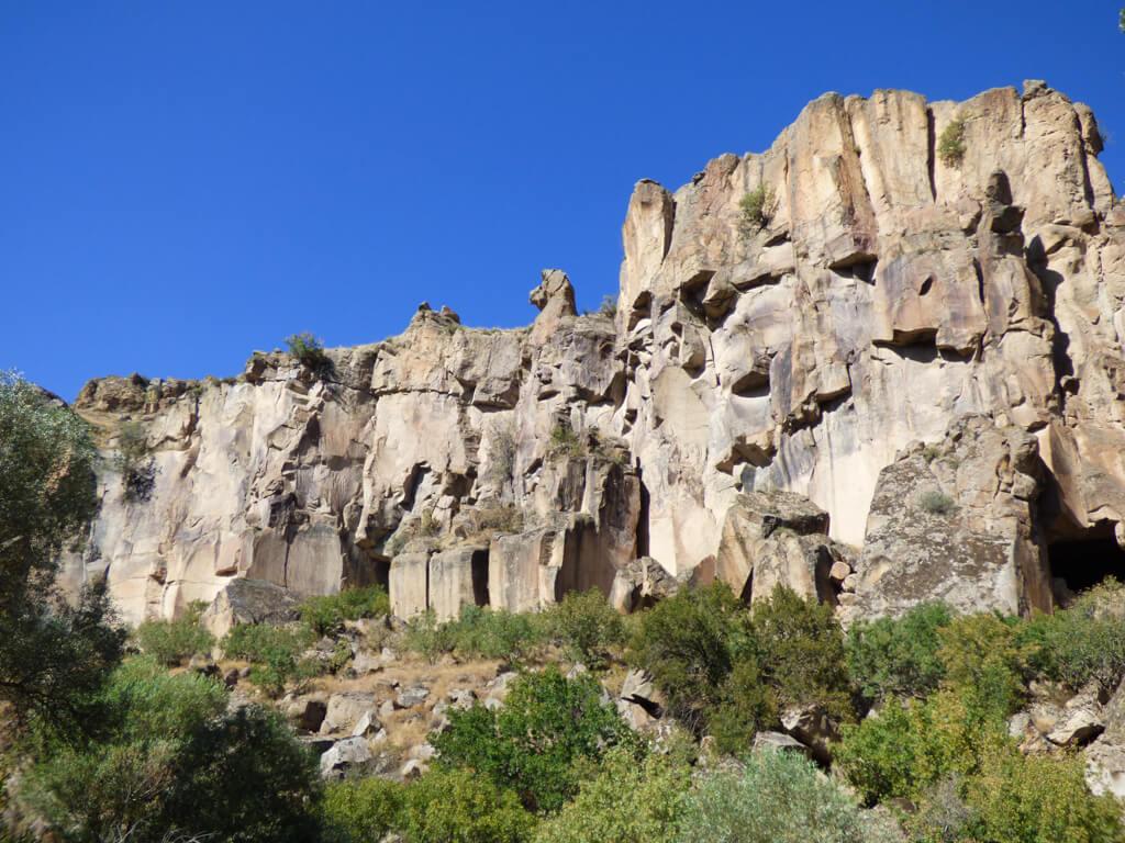 Hiking Trail in Ilhara Valley, Cappadocia, Turkey