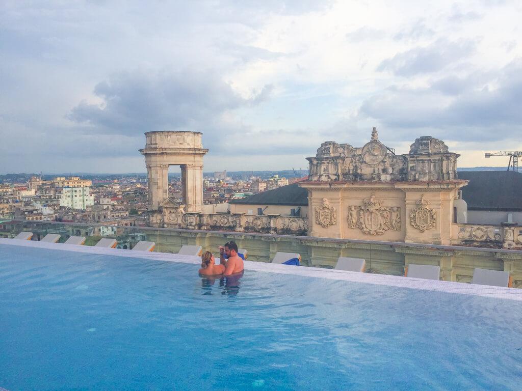 Pool at Gran Hotel Manzana Kempinski in Havana