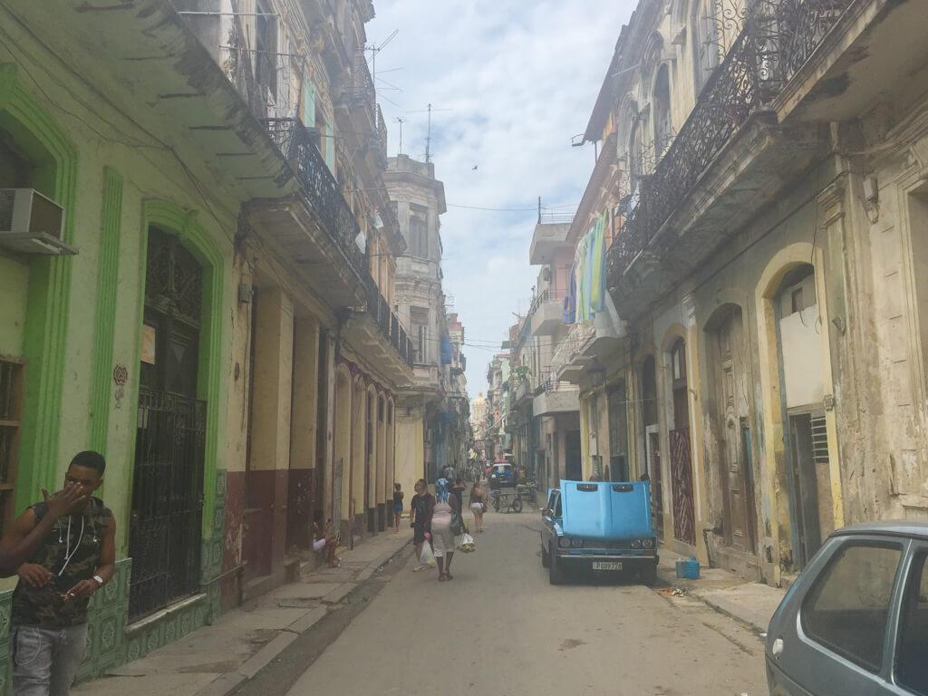 A street in Centro Habana