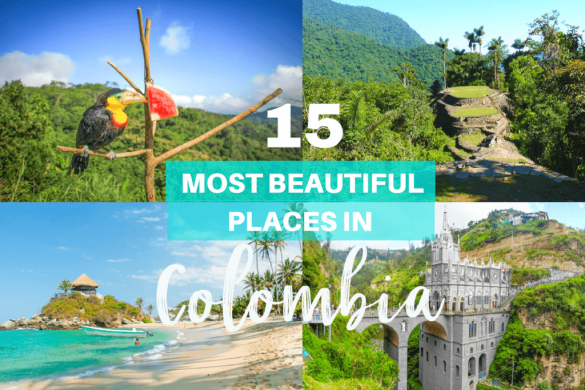 From sandy beaches to sprawling cities, Colombia has something for everyone! Discover the 15 most beautiful places in Colombia.