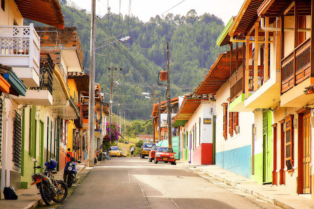 Jardín is a colourful town in the Antioquia region of Colombia