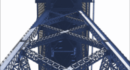 Blue-bridge