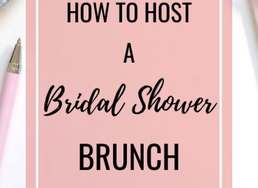 How to host a bridal shower brunch
