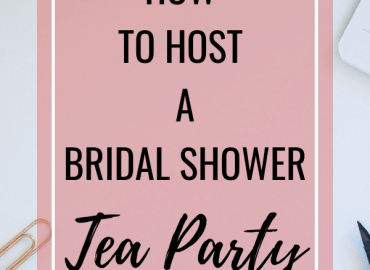 How to hot a bridal shower tea party