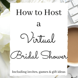Host a virtual bridal shower or bachelorette party