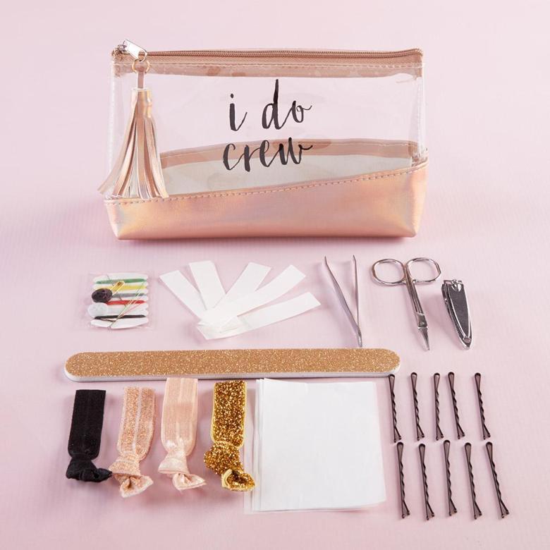 Beauty kit bachelorette party favors