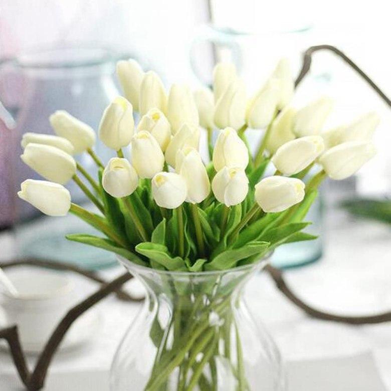 Artificial Tulip Flowers Wedding Party Decor