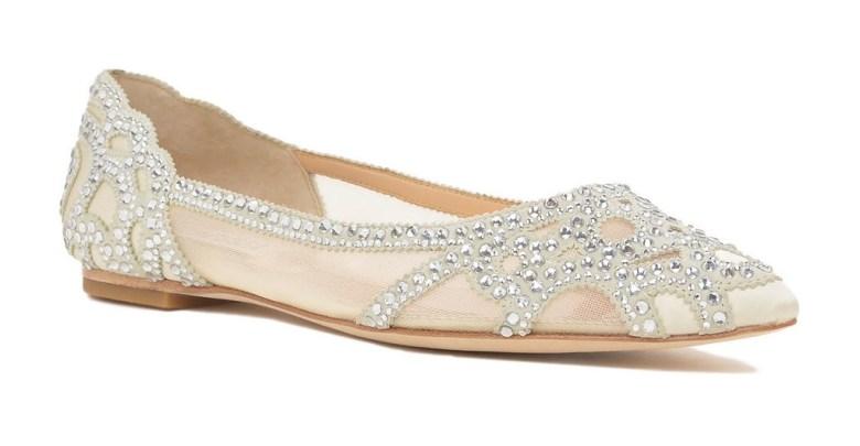 Badgley Mischka Gigi Pointed Toe Flat Shoe