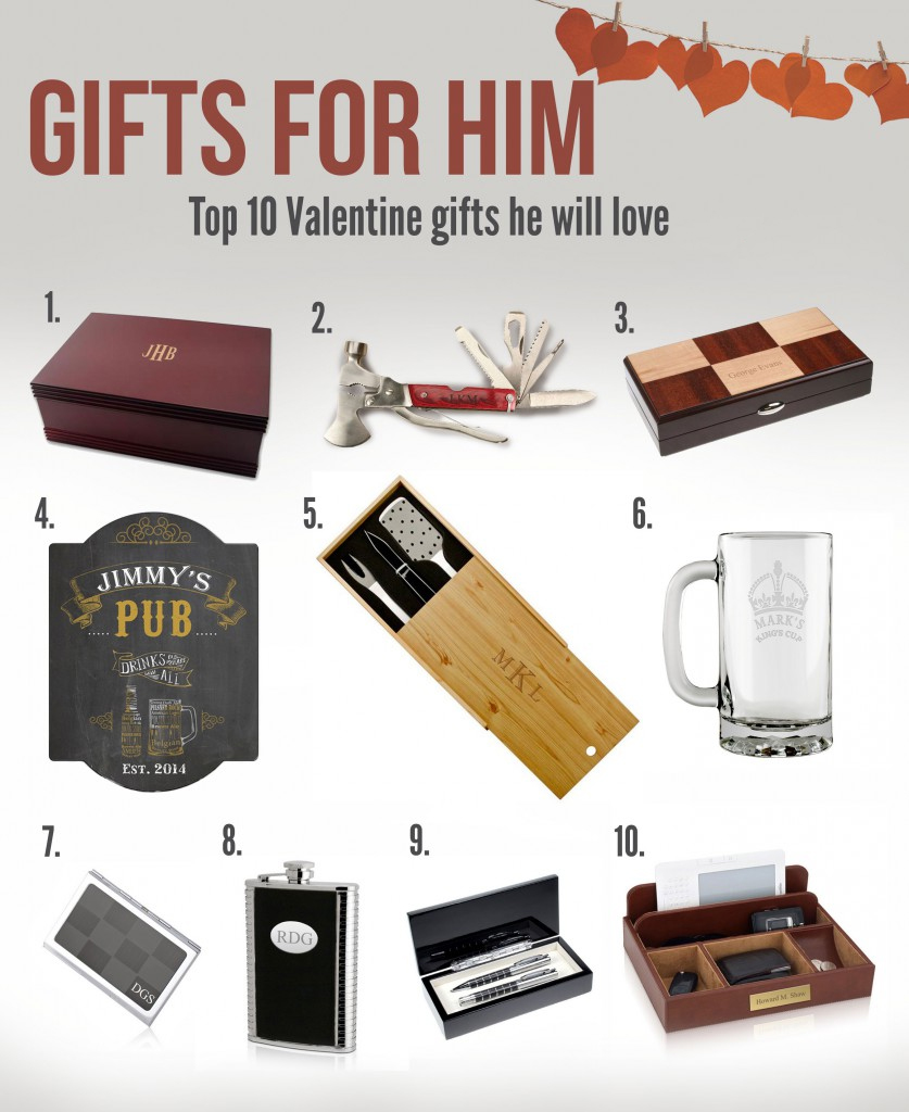 Top Ten Valentine Gifts For Him Memorable Gifts Blog