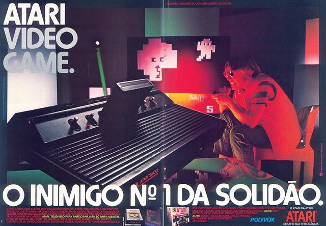 Anúncio do Atari 2600 em revista nacional