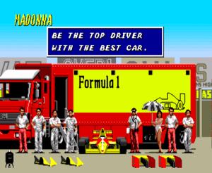 Equipe Madonna F1
