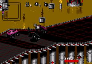 Rock n Roll Racing - Mega Drive