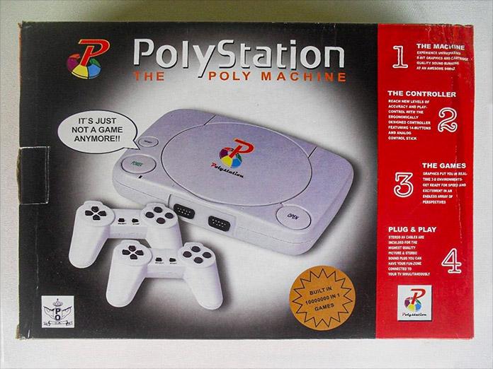 polystation caixa
