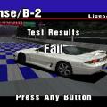 Gran Turismo - falha no teste