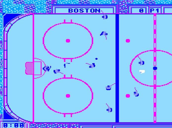 wayne gretzky hockey nes