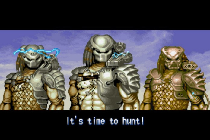 Time to hunt - alien vs predator