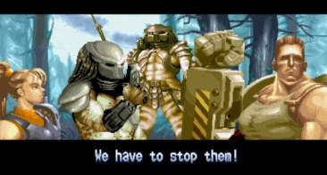 Cutscene Alien vs. Predator