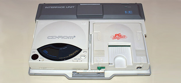 PC Engine + CD-ROM2