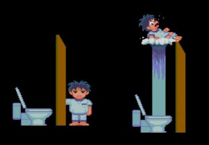 Toilet Kids Turbografx