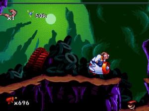 Earthworm Jim Mega Drive