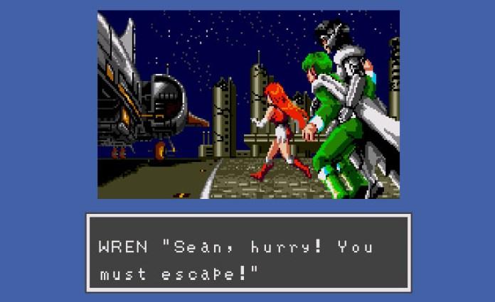 Phantasy Star III - fuga de Sean