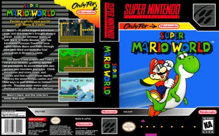 Super  Mario World art alternativa