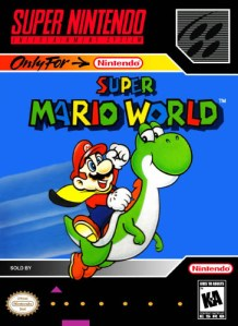 Super Mario World box art alternativa