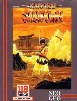 capa de Samurai Shodown para o Neo Geo