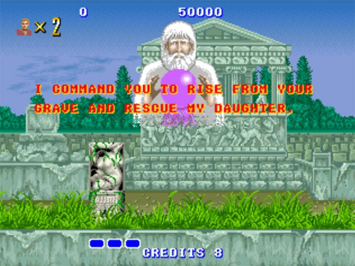 Altered Beast (arcade) quote