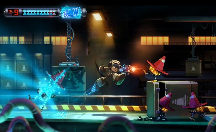 Mighty No. 9 conceito 1