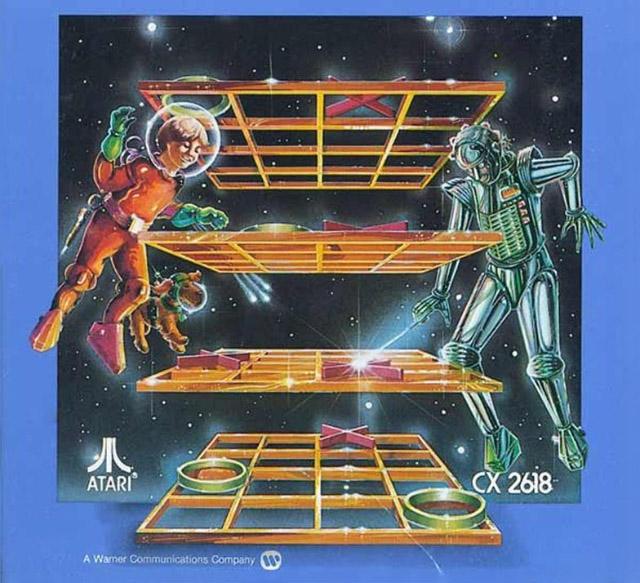 3D Tic Tac Toe Atari 2600 art