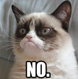 grumpy cat no