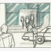 Streets of Rage - storyboard