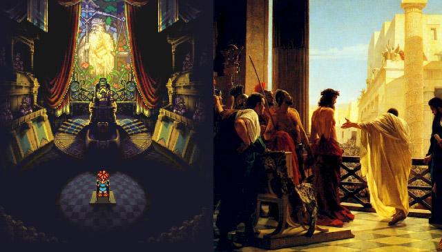 Chrono Trigger e a Bíblia - ulgamento de Chrono e julgamento de Jesus