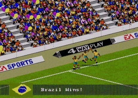 FIFA Soccer 94 - vitória